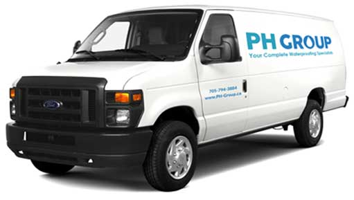 PH Group company van
