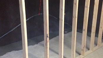 interior weeping tile and basement repairs