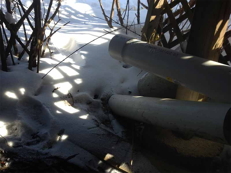 frozen pipe repair | PH Group Waterproofing Specialists | Barrie Ontario