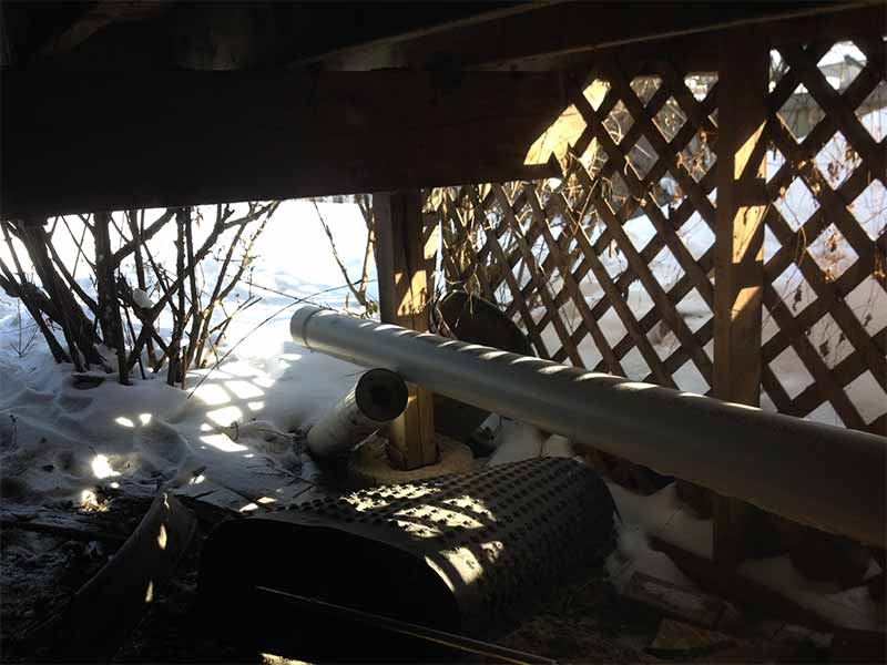 frozen pipe replacement and repairs | PH Group Waterproofing Specialists | Barrie Ontario