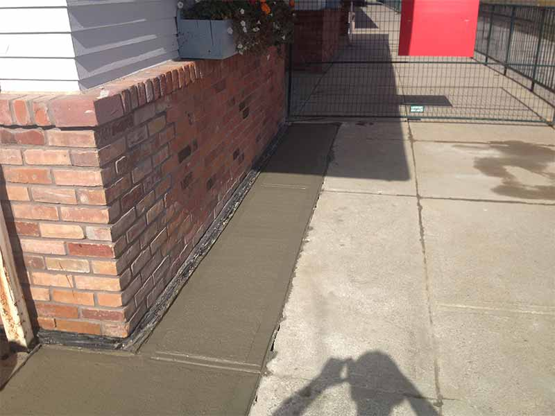 exterior weeping tile installations | PH Group Waterproofing Specialists | Barrie Ontario
