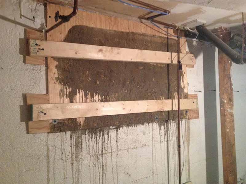 foundation repair and waterproofing in gravenhurst | PH Group Waterproofing Specialists | Barrie Ontario