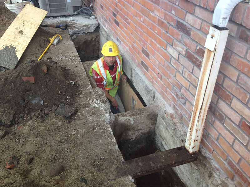 foundation repair | PH Group Waterproofing Specialists | Barrie Ontario