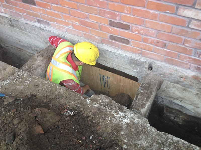exterior waterproofing and foundation repair | PH Group Waterproofing Specialists | Barrie Ontario
