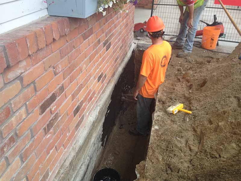 exterior waterproofing | PH Group Waterproofing Specialists | Barrie Ontario