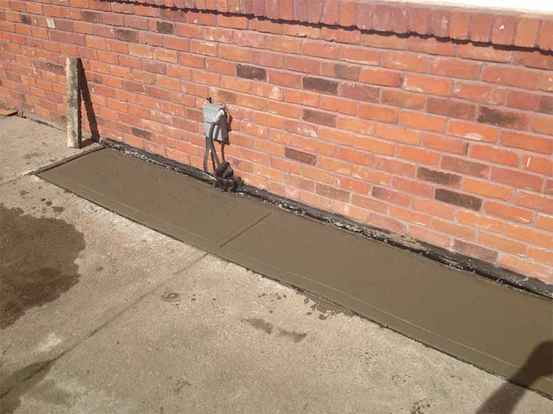 exterior weeping tile systems | PH Group Waterproofing Specialists | Barrie Ontario