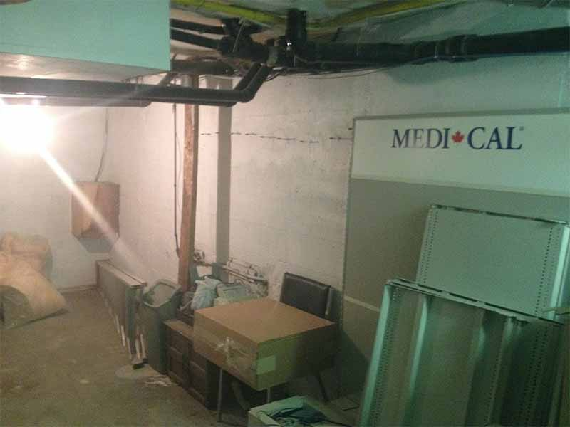 foundation and basement repairs | PH Group Waterproofing Specialists | Barrie Ontario