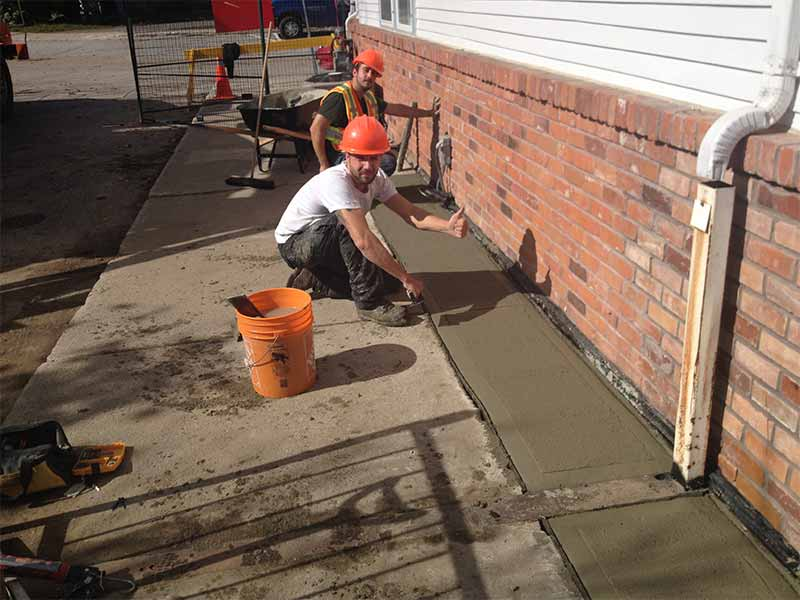 drainage systems for driveways | PH Group Waterproofing Specialists | Barrie Ontario
