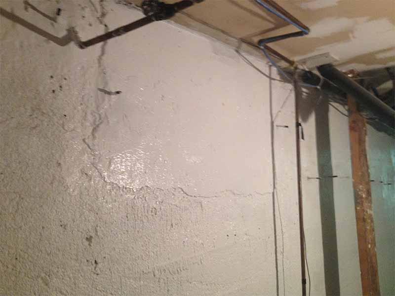 foundation crack repair in gravenhurst | PH Group Waterproofing Specialists | Barrie Ontario