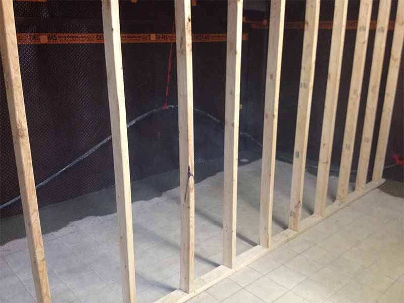 interior weeping tile and basement repairs | PH Group Waterproofing Specialists | Barrie Ontario
