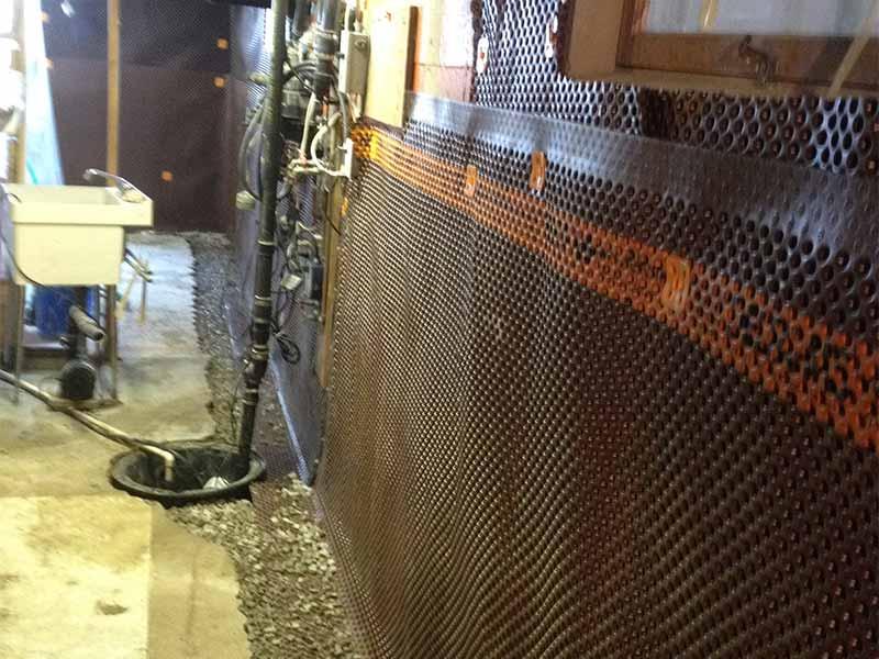weeping tile and basement waterproofing | | PH Group Waterproofing Specialists | Barrie Ontario