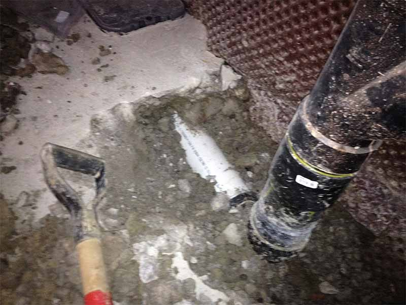 interior home water drainage systems   PH Group Waterproofing Specialists   Barrie Ontario