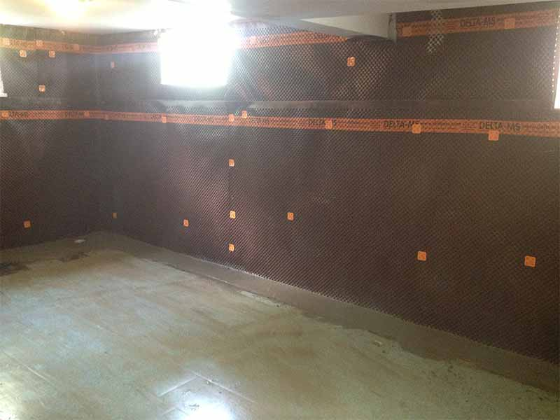 interior weeping tile repair and service