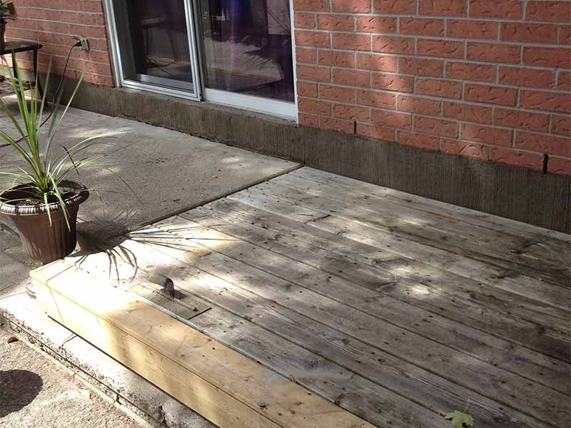foundation parging | PH Group Waterproofing Specialists | Barrie Ontario