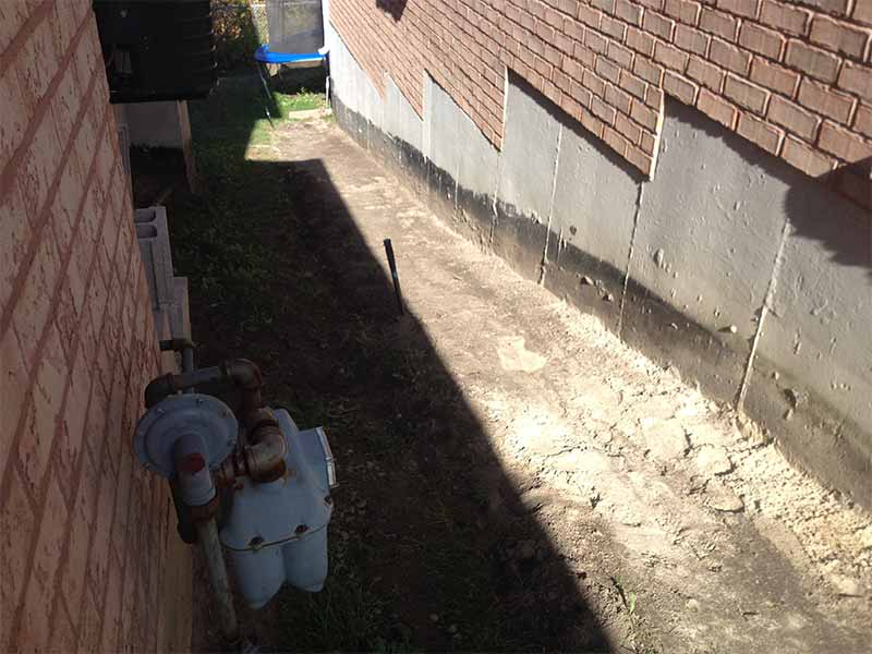 Silver Creek Water Problem | PH Group Waterproofing Specialists | Barrie Ontario