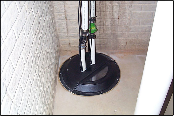 Sump Pump Installation | PH Group Waterproofing Specialists | Barrie Ontario