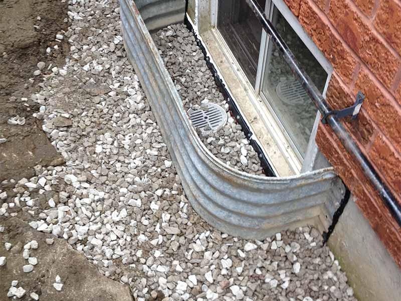 window well repair | PH Group Waterproofing Specialists | Barrie Ontario