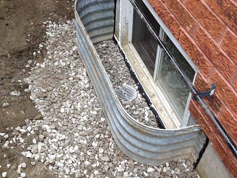 window well installation | PH Group Waterproofing Specialists | Barrie Ontario