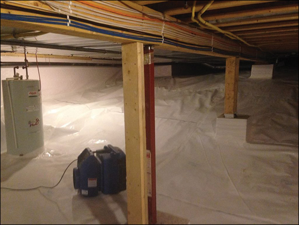 Crawl Space Encapsulation Waterproofing | PH Group Waterproofing Barrie